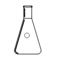 1566-00514 Flask,Erlenmeyer, 5ml,14/20